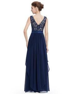 83ebdb22666  Clearance Sale  Elegant Evening Dresses Ever Pretty Sexy Long Lace Deep V  Back Prom Sleeveless Dresses 2017 Women