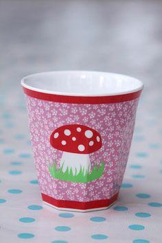 RICE - childrens mug in melamin