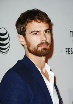 """Theo James attends the premiere of """"Franny"""" during the 2015 Tribeca Film Festival at BMCC Tribeca PAC on April 17, 2015 in New York City."""