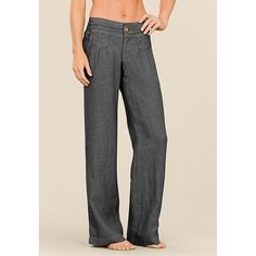 Lagoon Linen Pant 2 | Athleta. Love love love this style of pant, but not such a huge fan of linen.