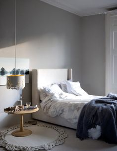 Bedroom: LivingEtc and styled by Claudia Bryant