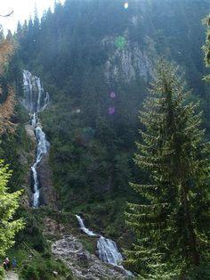 '' The Horse '' Waterfall -90m . ROMANIA