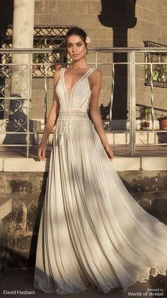 David Hasbani 2018 Wedding Dress