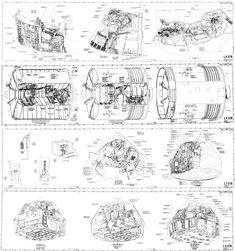 Saturn F 1 Rocket Engine Saturn 1B Model Rocket Plans