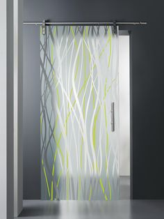 MADRAS® FILI SMALTO - Designer Decorative glass from Vitrealspecchi ✓ all information ✓ high-resolution images ✓ CADs ✓ catalogues ✓ contact. Room Partition Designs, Glass Partition, Window Glass Design, Door Design, Design Vitrail, Dental Office Design, Door Detail, Clinic Design, Pocket Doors