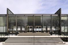 S. R. Crown Hall, designed by the German-born Modernist architect Ludwig Mies van der Rohe, is the home of the College of Architecture at the Illinois Institute of Technology in Chicago, Illinois.