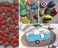 Be inspired with 20 of the Best Painted Rock Art Ideas, You Can do! A trendy and therapeutic craft that includes easy DIY tutorials.