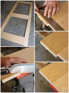 Sliding Screen Door Diy Awesome 49 New Ideas Wooden Screen Door, Diy Screen Door, Sliding Screen Doors, Screen House, Diy Door, Wooden Doors, Wooden Steps, Wooden Diy, Craft Shed