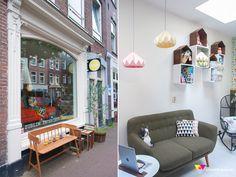 Zublim, Amsterdam; mooi design, gemoedelijke sfeer.
