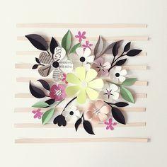 Paper Crafts = Hanna Nyman Paper poetry by Stockholm based designer and print designer Hanna Nyman. WebShop on website. Giant Paper Flowers, Diy Flowers, Fabric Flowers, Diy Paper, Paper Art, Paper Crafts, Flower Backdrop, Flower Wall, Origami