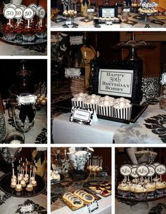 50th Birthday Party Ideas For Men Decorations
