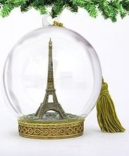 Eiffel Tower Memory Globe