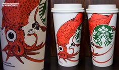 sample image from twitter, my Starbucks #whitecupcontest design