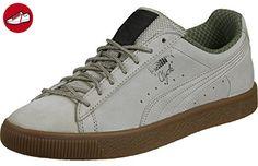 Puma Clyde Winter Schuhe vintage khaki - Puma schuhe (*Partner-Link)