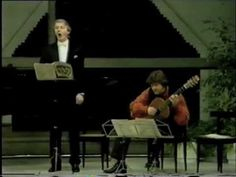 Paul Esswood (Counter-Tenor) and Timothy Walker (guitar)
