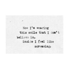 Anxiety disorder fighting and relief. ❤ liked on Polyvore featuring quotes