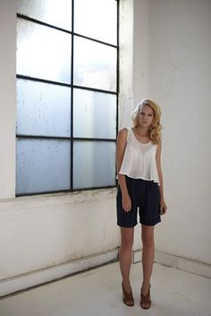 Cuffed Short  by Livia Arena  $132.00