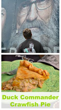 Duck Commander Kitchen Recipe booklet and DVD included this Duck Dynasty Crawfish Pie. While living in Louisiana, we fell in love with crawfish pies.