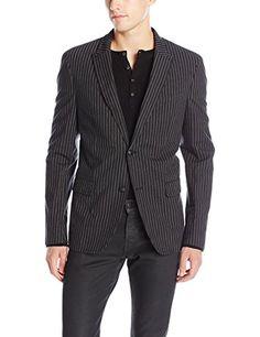 John Varvatos Men's Iconic Stripe Sport Jacket