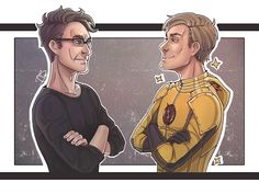 the Flash: Harrison Wells / Eobard Thawne by AceWest on DeviantArt