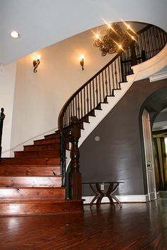 Luxury stairs! For information please call Us: (281) 898 1591 or www.woodlandsrealtypros.com