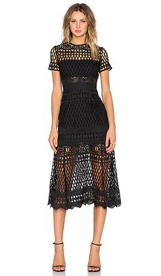 Shop for self-portrait Cut Out Lace Layered Dress in Black at REVOLVE. Free 2-3 day shipping and returns, 30 day price match guarantee.