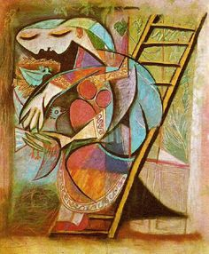 reminds me of an Indian woman in a saree Pablo Picasso Paintings Pablo Picasso Artwork, Art Picasso, Picasso Portraits, Picasso Paintings, Paulo Picasso, Kandinsky, Art Visage, Pop Art, Post Impressionism