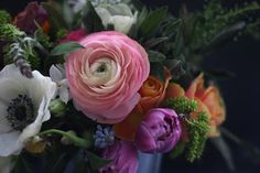 Gorgeous Miss Pickering arrangement.