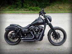 CUSTOM 2013 Harley-Davidson Street Bob FXDB - Harley Davidson Forums