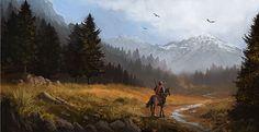 Lone Rider by Titaniasky.deviantart.com on @DeviantArt
