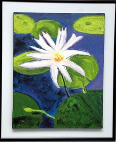 Artwork by SCEI Students with #specialneeds, Acrylic paint on Canvas by Asim  www.fb.com/sunflowersbyscei