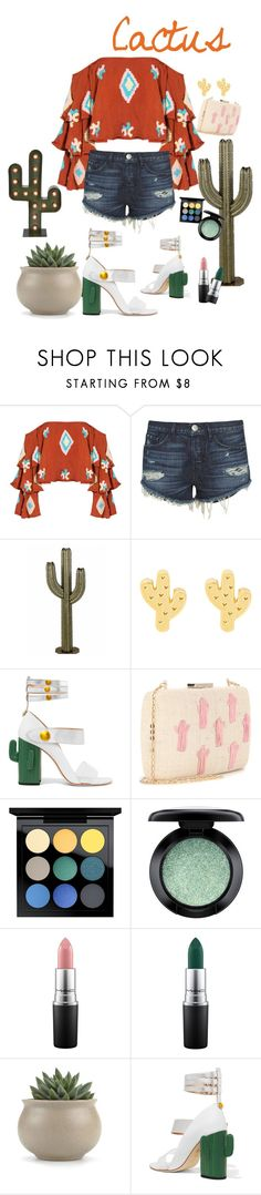 """""""Untitled #327"""" by bitty-junkkitty ❤ liked on Polyvore featuring Mochi, 3x1, MR by Man Repeller, Kayu, MAC Cosmetics and Gerson"""