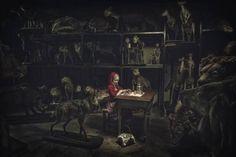 Photographer BERND KAMMERER  Little Red Riding Hoods Lunchtime  ONE EYELAND