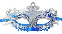 Masquerade Mask Shiny Metal Rhinestone Venetian Pretty Pa... http://www.amazon.com/dp/B00WM9TH3I/ref=cm_sw_r_pi_dp_fwbjxb1GP3W7E