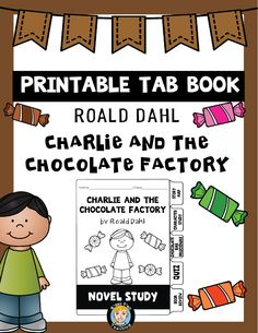 Charlie and the Chocolate factory by Roald Dahl is always a student favourite! Tab books are a fun and creative way to get into novel studies!