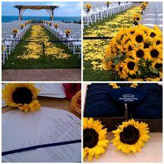 The Secret Life of Flowers: Sunflower Wedding