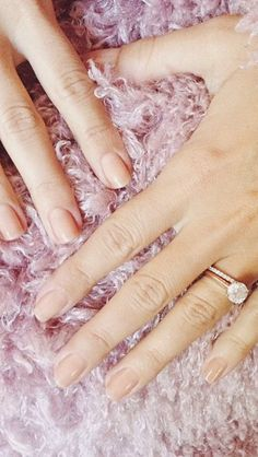 3 ct. rose gold engagement ring and rose gold pave diamond wedding band---perfection!