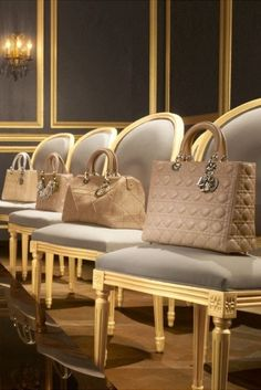 ✿ SPRING FLING Ladies Luncheon ✿ Dior Handbags