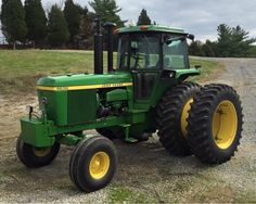 The cab/body created a tremendous demand for the first etc. Old John Deere Tractors, Jd Tractors, Agriculture Tractor, Farming, John Deere 6030, Tractor Cabs, Farm Images, John Deere Equipment, Tractor Implements