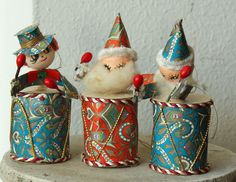 Jammin' at Xmas Time Christmas Makes, Christmas Past, Retro Christmas, Vintage Holiday, Rustic Christmas, Christmas Crafts, Christmas Decorations, Xmas, Antique Christmas Ornaments