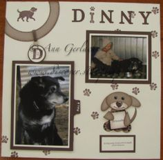 scrapbook pages | Discover Ink: Dog Scrapbook Page
