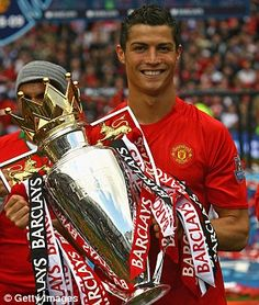 Ronaldo has won more trophies with Manchester United (nine in total) than Real Madrid (seven) Cristiano Ronaldo Trophies, Cristiano Ronaldo Manchester, Cristiano Ronaldo Junior, Cristino Ronaldo, Cristiano Ronaldo Juventus, Cristiano Ronaldo Cr7, Ronaldo Football, Manchester United Wallpaper, Manchester United Legends
