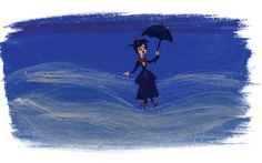 It's Mary Poppins! Have you gotten your copy of the Walt Disney Records' The Legacy Collection: Mary Poppins yet? Original Artwork by Lorelay Bove Disney Love, Disney Art, Disney Musik, Disneyland 60th, Walt Disney Records, Legacy Collection, Mary Poppins, Time Travel, Make Me Smile