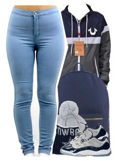 """""""it was so hot over the weekend, and now it's cold """" by yeauxbriana ❤ liked on Polyvore featuring Herschel Supply Co., New Era and NIKE"""