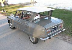 1965 Citroen Ami 6 Berline Sedan Rear
