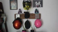 Colgador de cascos