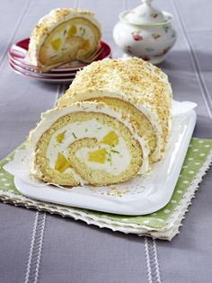 Unser beliebtes Rezept für Ananas-Limetten-Biskuitrolle mit Käse-Sahne-Creme und mehr als 55.000 weitere kostenlose Rezepte auf LECKER.de.
