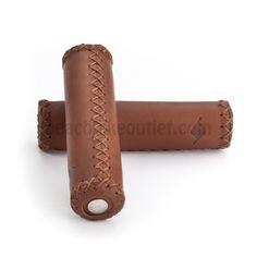 Origin 8 Classique Brown Leather Grips