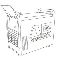 Sketch of AngelBlade...