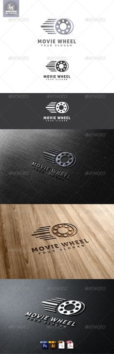 Movie Wheel Logo Template #GraphicRiver Movie Wheel Logo Template is An excellent logo template highly suitable for logo company, office, organization, studio, Production and other These files consists of resizable vector format files like AI, EPS , and PDF . Also PSD format for raster version alternative. font used Aller thank and enjoy, don't for gate to rate Created: 8May13 GraphicsFilesIncluded: PhotoshopPSD #VectorEPS #AIIllustrator Layered: Yes MinimumAdobeCSVersion: CS Resolution…